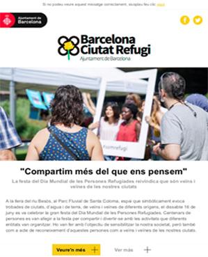 Butlletí Ciutat Refugi Juliol 2019