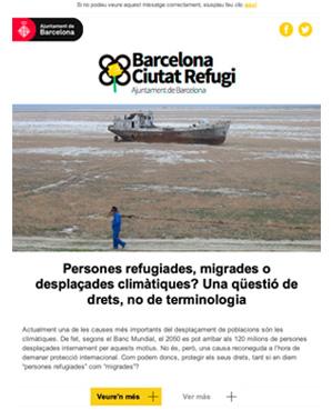 Butlletí Ciutat Refugi Octubre 2019